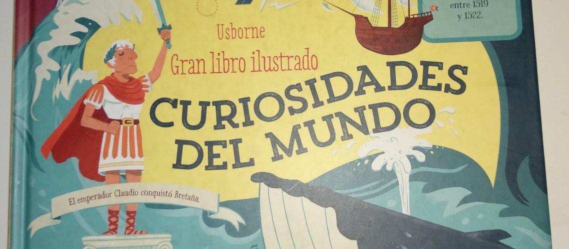 Gran Libro Ilustrado Curiosidades del Mundo Usborne