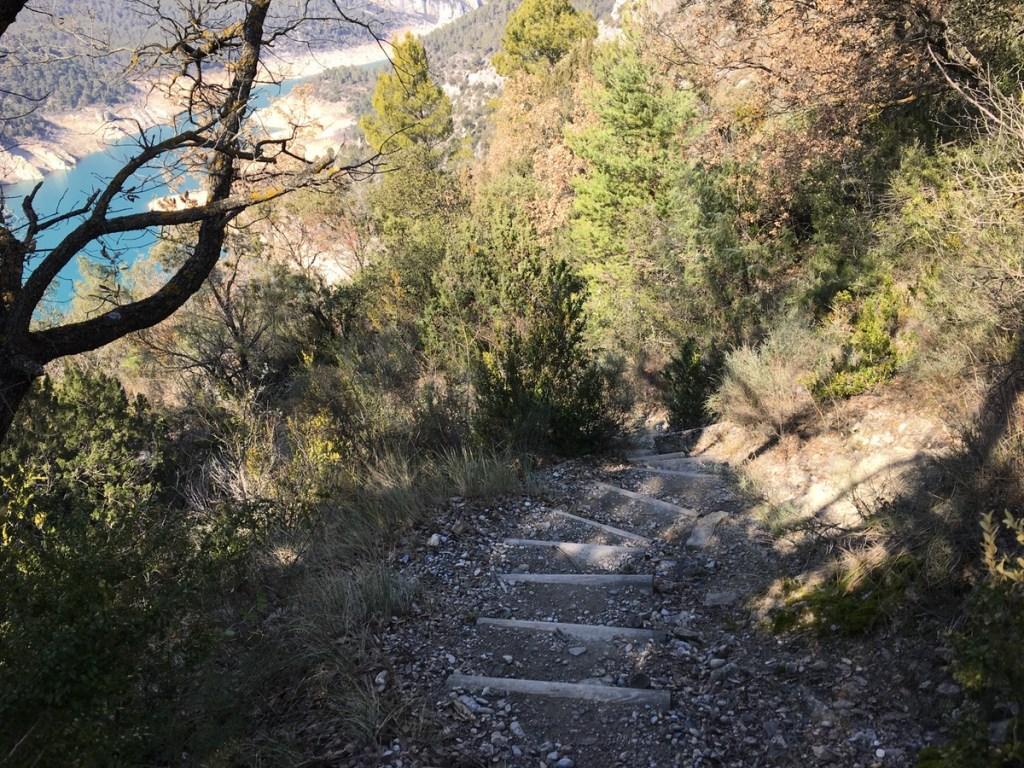 sendero ermita de la pertusa