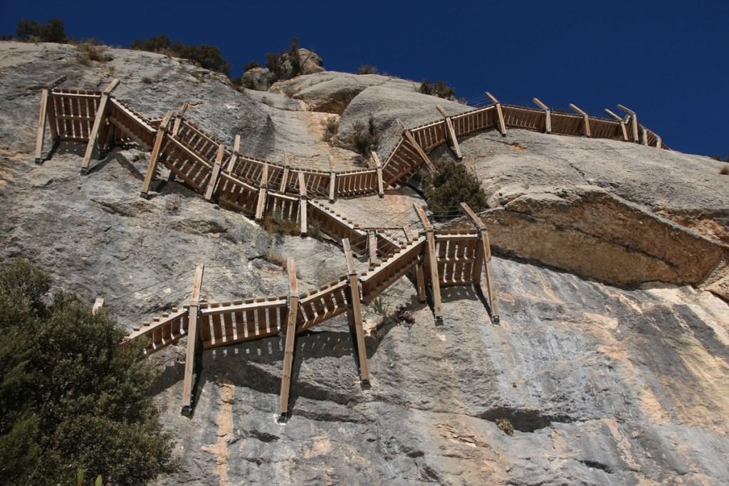 escalinata de montfalcó
