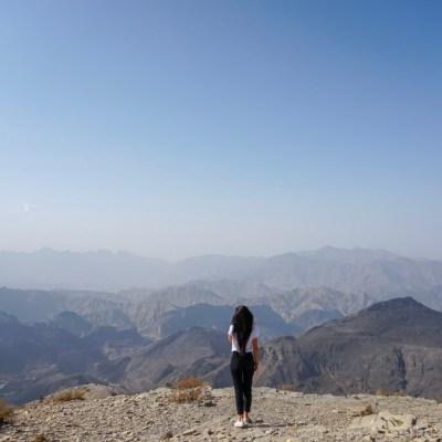 Cruzando las Montañas Al Hajar