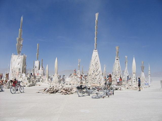 Idée naturiste n°22 : allez au festival Burning Man