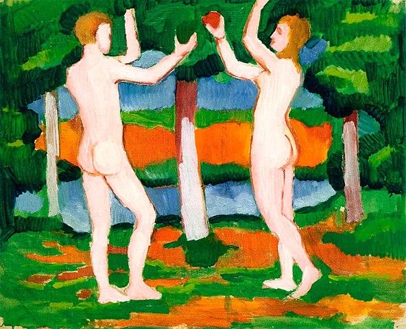 Idée naturiste n°52 : allez à une soirée costumée en tant qu'Adam ou Eve