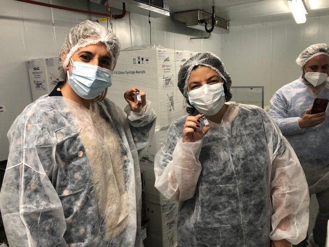 Argentina comenzó con la producción de la vacuna Sputnik