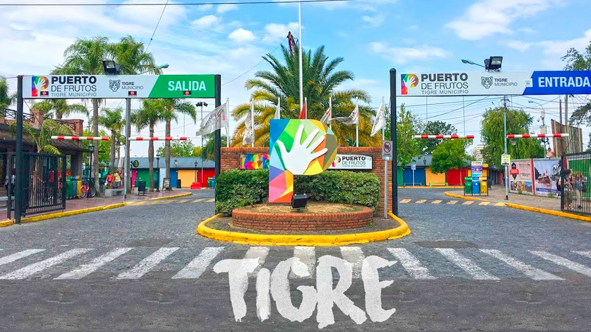 Coronavirus: Tigre cerró las plazas públicas, el Puerto de Frutos y los centros comerciales