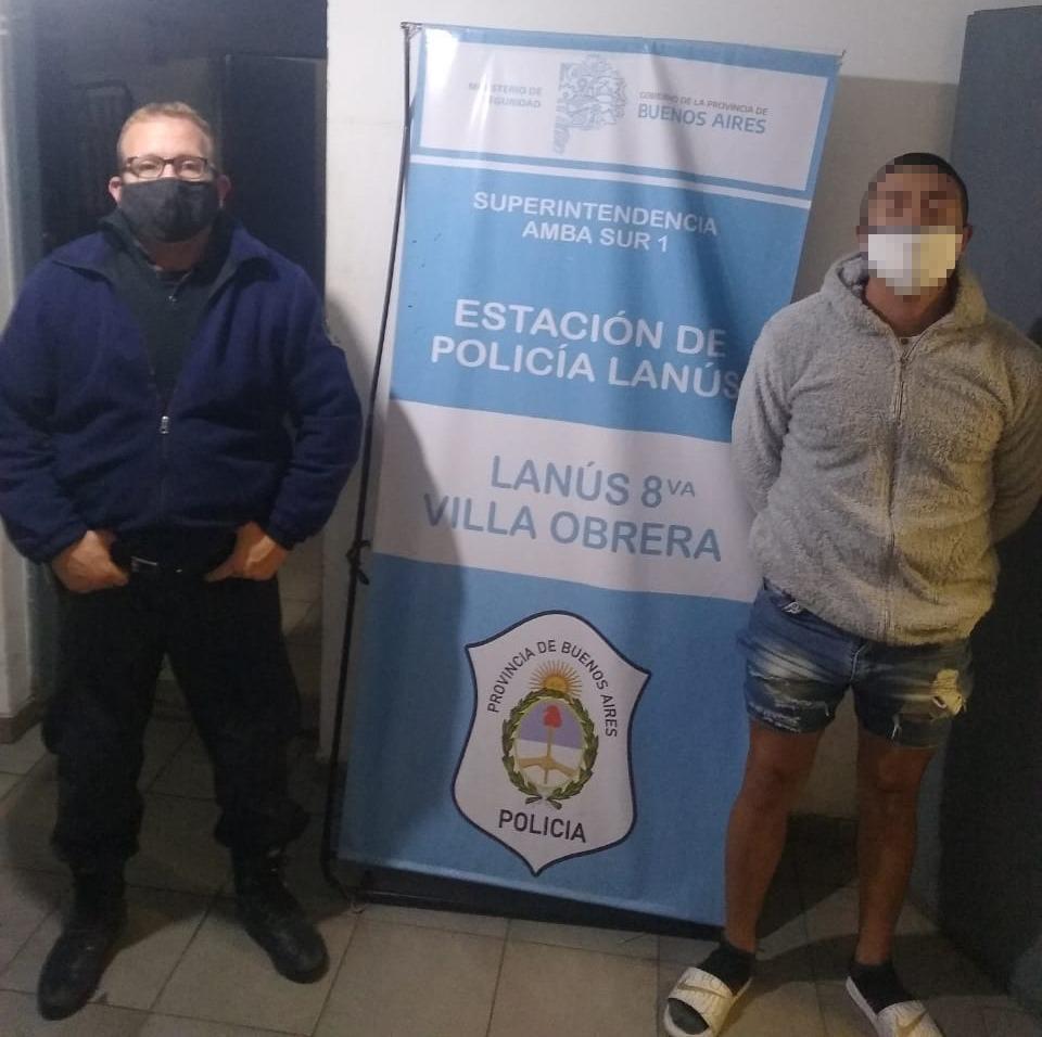 Cae banda de narcomenudeo en Lanús Este