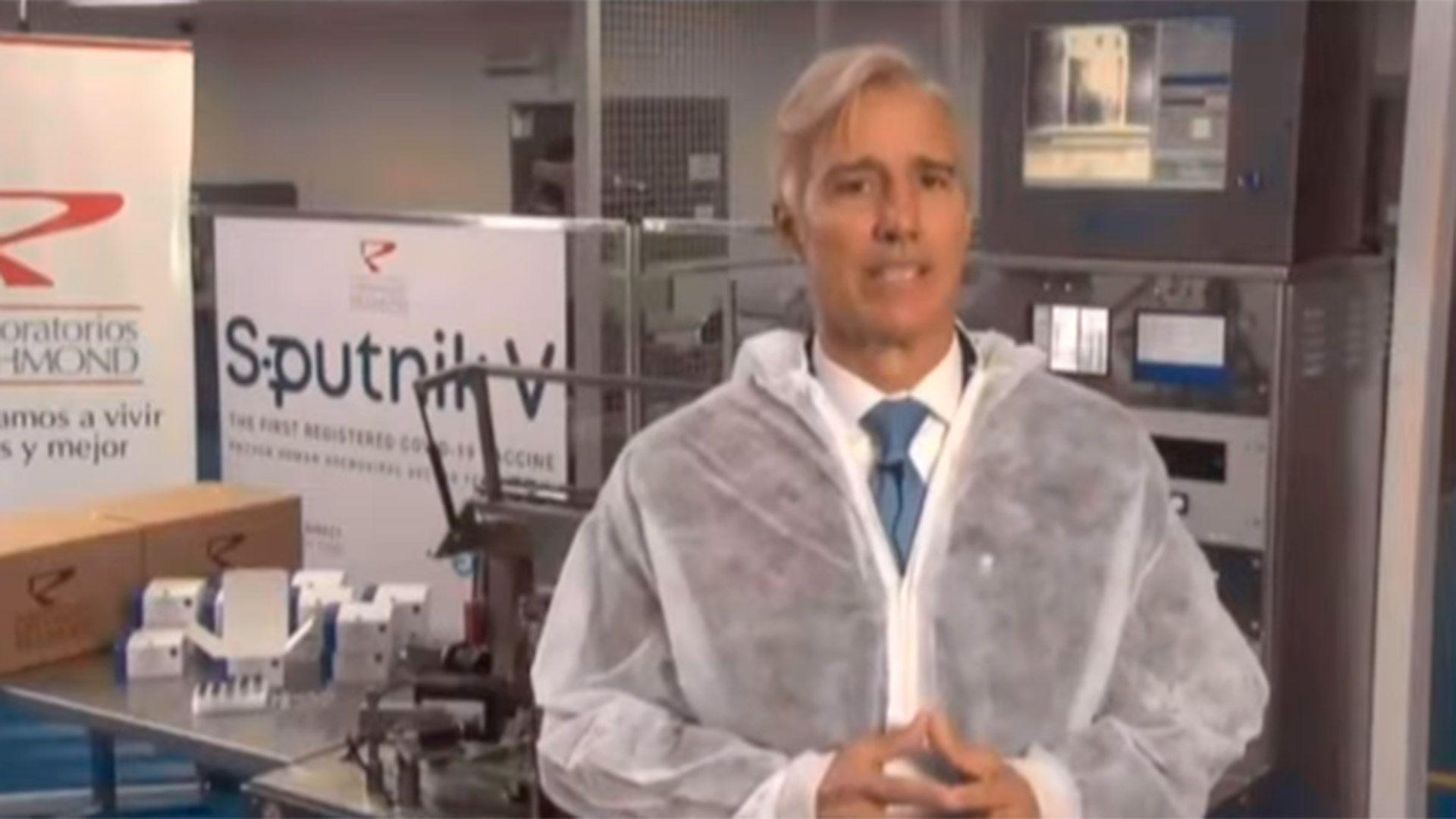 El lunes comenzará la producción local del componente 2 de la vacuna Sputnik V