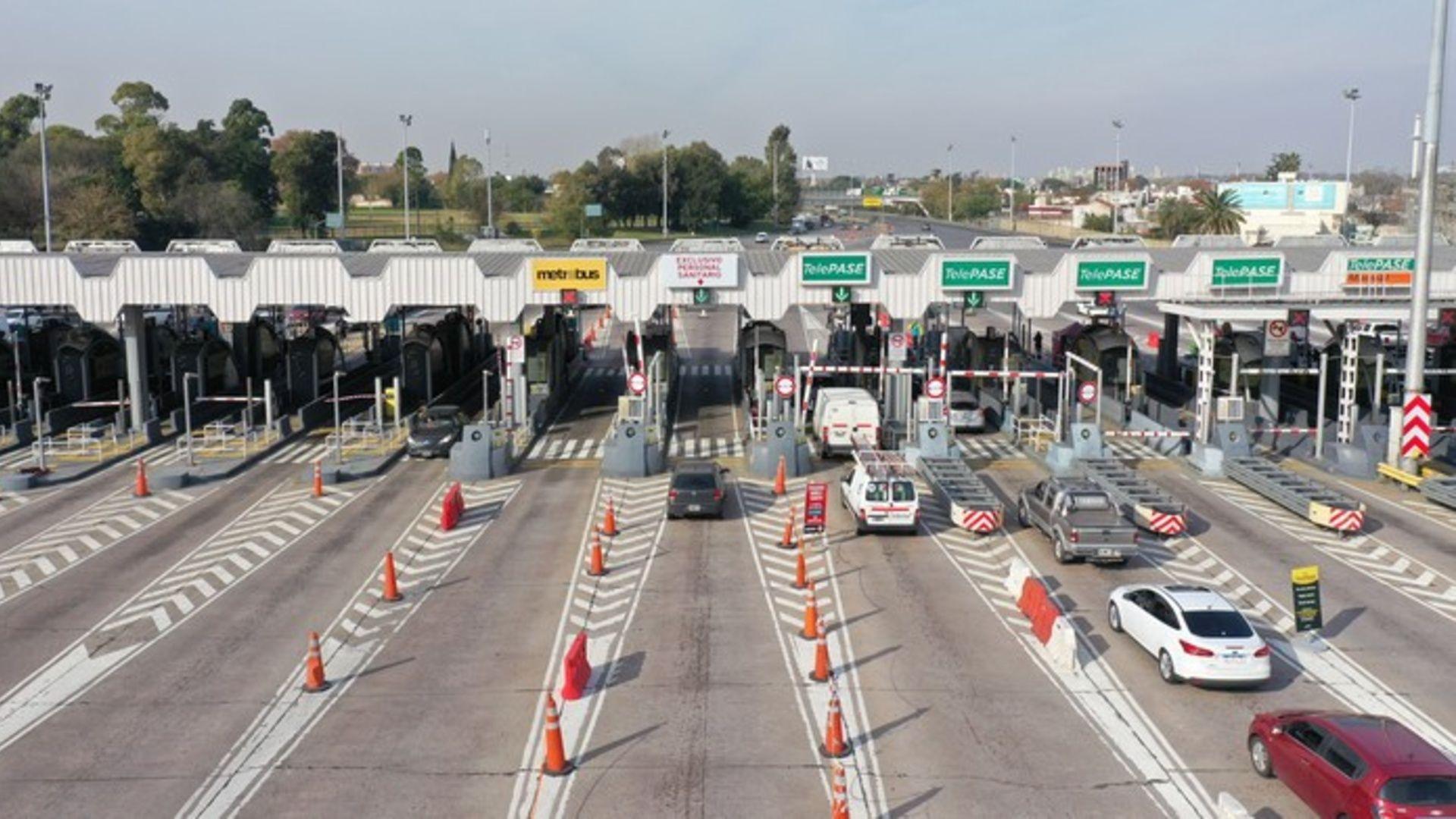 Aumentan cerca de un 10% los peajes de todos los corredores viales nacionales