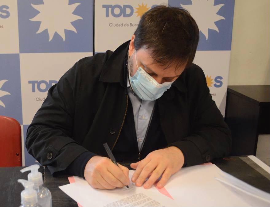 Leandro Santoro y Gisela Marziotta encabezarán la lista del Frente de Todos en CABA
