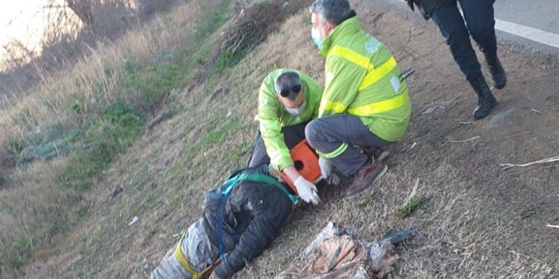 Es albañil, iba caminando a su trabajo en La Plata y fue atropellado por un auto que se dio a la fuga