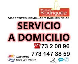 SERVICIO A DOMICILIO CUADRADO