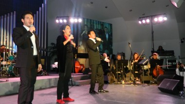 Acclaimed Greek tenor Mario Frangoulis and star Alkistis Protopsalti