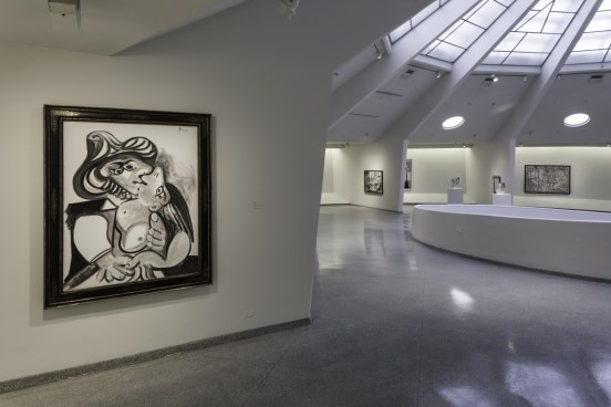Exhibition view of Picasso Black and White-October 5, 2012–January 23, 2013
