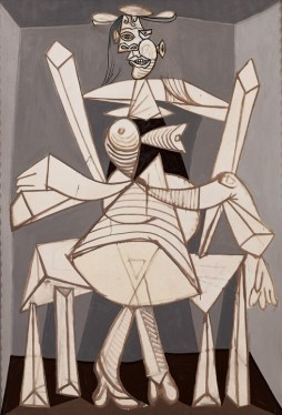 Pablo Picasso, Seated Woman in an Armchair (Dora) (Femme assise dans un fauteuil [Dora]), Grands-Augustins, Paris, May 31, 1938
