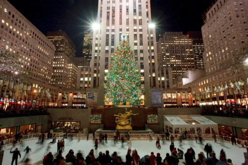 Lo mejor de la plaza de Rockefeller Center en las fiestas de fin de año