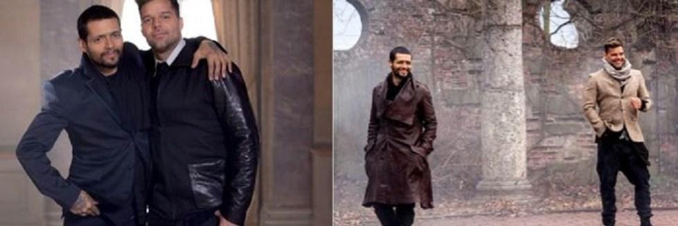 """Draco y Ricky Martín juntos en la filmación del video""""Más y Más"""""""