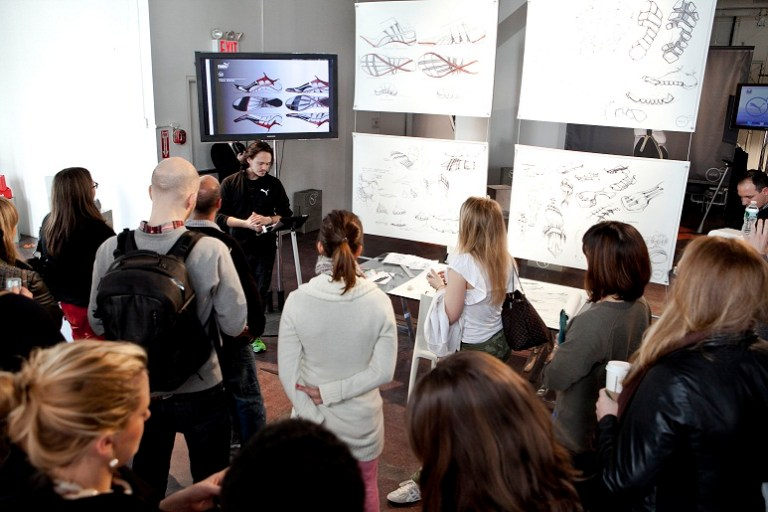 PUMA Nature of Performance Global lanza en NYC nueva campaña en la foto Ray Horacek Brand Catalyst y Designer for Innovation, PUMA. Foto credito David Lang