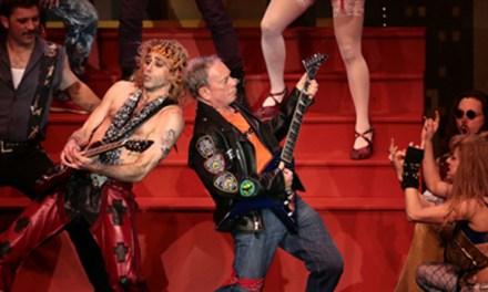 Alcalde Bloomberg artista y rockero
