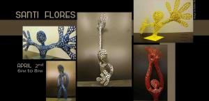 Exposición de esculturas de Santi Flores en el Centro Espanol de Nueva York