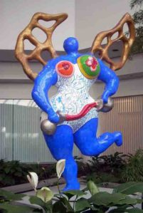 La Temperance - Niki de Saint Phalle- Bulova Corporate Center - NYC