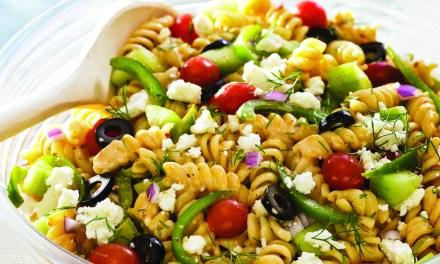 Buena comida con ingredientes naturales