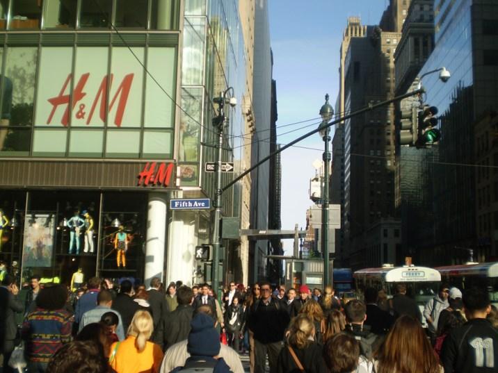 La fotografía como pretexto- cruzando la avenida
