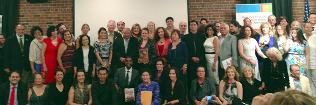 Ganadores de los Latino Book Awards, premios literarios entregados en Nueva York. - Foto Kirk Whisler