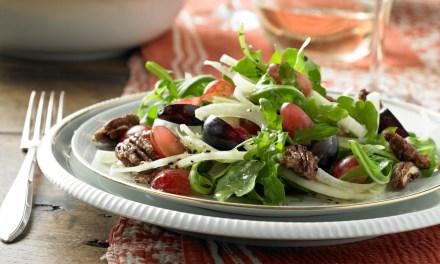 Añada uvas frescas a sus platos de verano