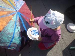 """Creatividad en Umbrella House (Foto Manuel Humberto Arévalo Burgos"""","""