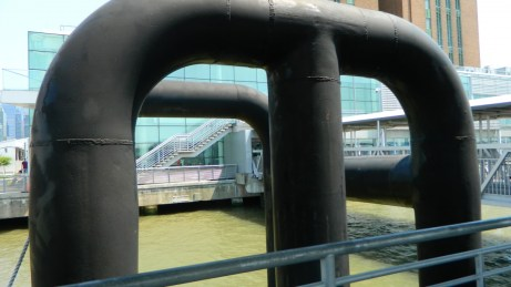 Estación del NY Waterway Ferry en Manhattan. {Foto Nueva York Digital)