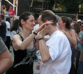 "La belleza del baile Lincoln Center 'Midsummer Night Swing"" (Foto Nabuco)"