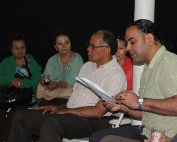 Rubén Sánchez Féliz, residente en Nueva York, ganó los premios en los géneros de Novela y Cuento, con las obras Un cuarto lleno de anguilas y Ya nunca será como antes, respectivamente.