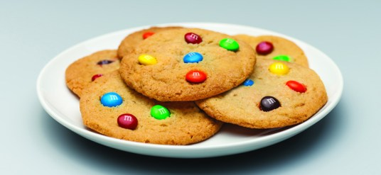 Galletas deliciosas de M&M'S