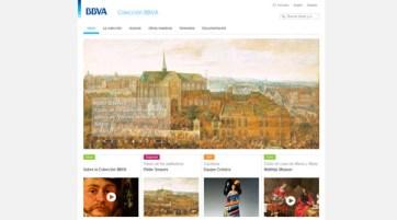 El Grupo BBVA ha digitalizado parte de su colección artística para exponerla en su web.