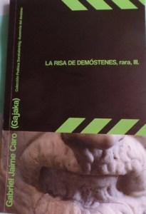Arte del afiche por Juan Betancurth, con foto del autor por Loli Cienfuegos.