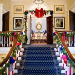 Decoración decembrina de Gracie Mansion