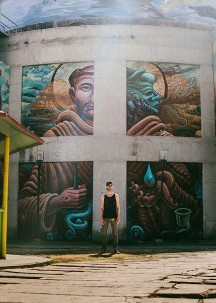 Water Is One Murals Nueve Arte Urbano