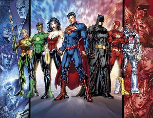 Rediseño de la Liga de la Justicia con motivo del reinicio del Universo DC