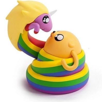 Jake and Lady Rainicorn Adventure Time