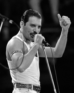 Glossy Photo of Freddie Mercury