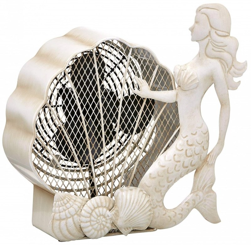Mermaid Desk Fan