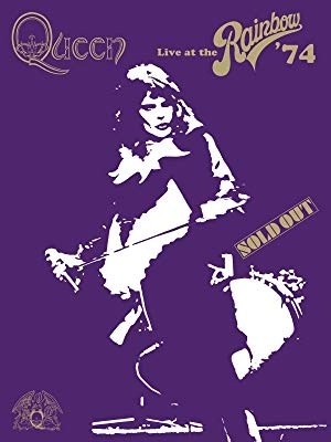 how about watching queen perform this is a view of queen performing live at the queen at the rainbow concert on march 31 1974 at the rainbow bar and