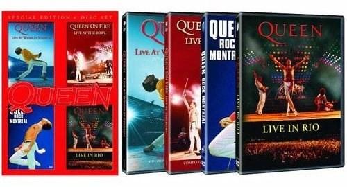 Queen Concert DVD Box Set