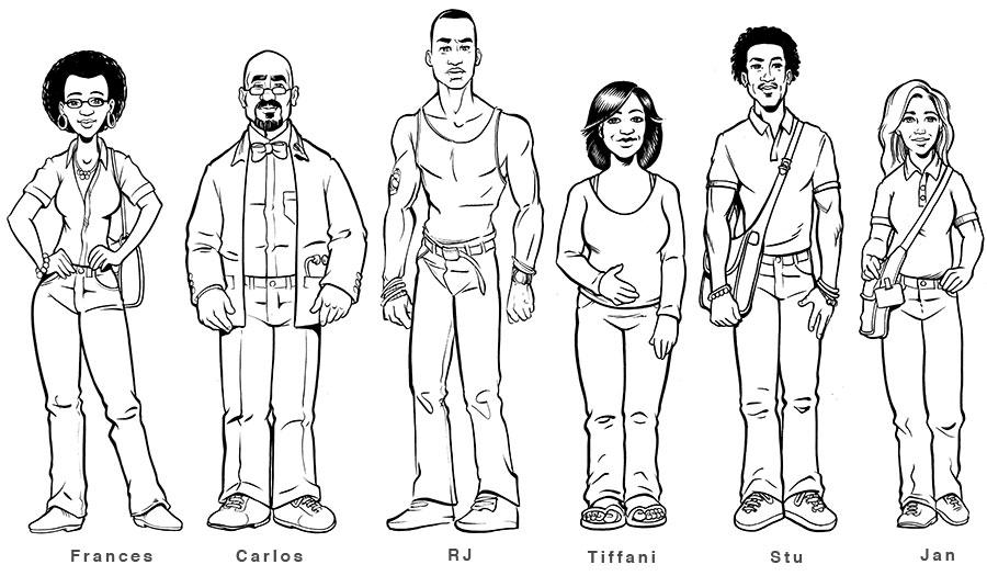 Risultati immagini per comic character
