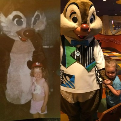 Photo with Disney character