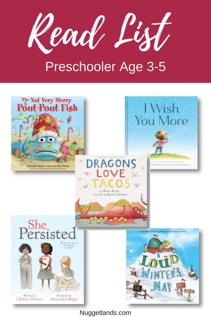 READ Gift Guide Preschool