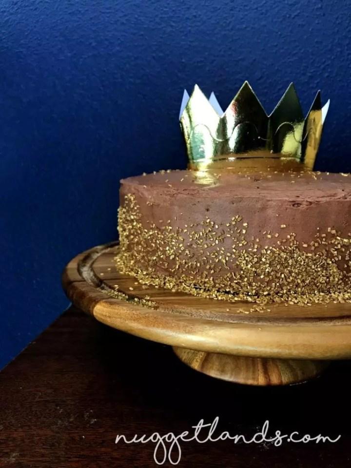 chocolate cake wild one birthday