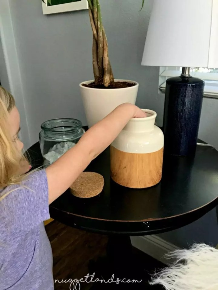 positive parenting reward jar out