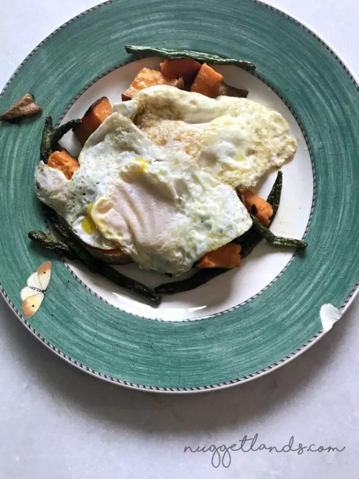whole30 week 1 leftover breakfast