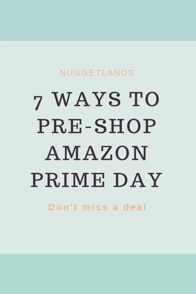 7 ways to shop Amazon Prime Day. Deals on toys, home and electronics, audio books, and even deals from small businesses. All you need to know before the big day. #shopping #amazon #frugalliving #deals #primeday