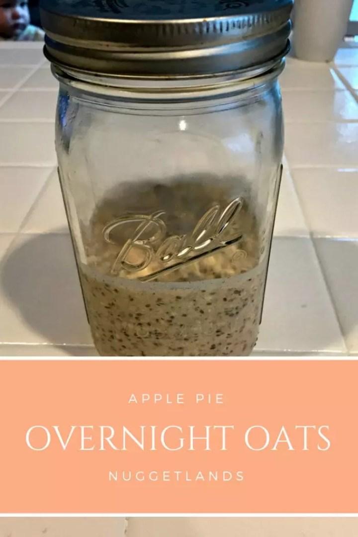 Overnight Oats Apple Pie